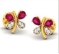 Diamond Earrings (DOCPN5210)