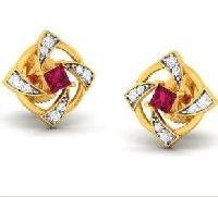 Diamond Earrings (DOCPN5213)