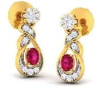 Diamond Earrings (DOCPN5215)
