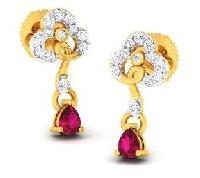 Diamond Earrings (DOCPN5217)