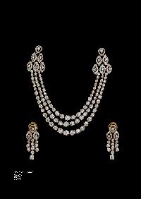 Diamond Necklace Set 05