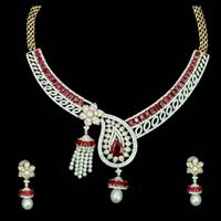 Diamond Necklace Set 03