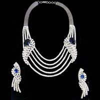 Diamond Necklace Set 01