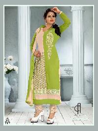 1002 Rangoli Designer Churidar Suit