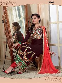 1003 Gulshan Designer Churidar Suit