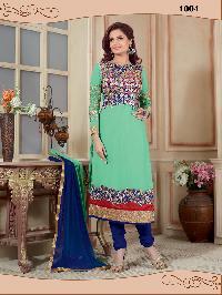 1004 Gulshan Designer Churidar Suit