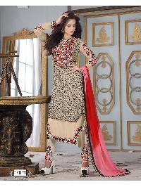 1007 Ganga Premium Designer Churidar Suit