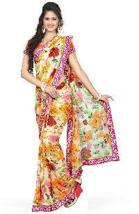 12005B Shubh Labh Designer Saree