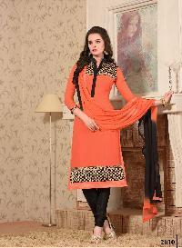 2010 Heera Designer Churidar Suit
