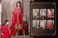 4006 Red Chilli Designer Suit