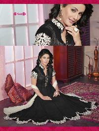 6001 Black Navya Designer Anarkali Suit