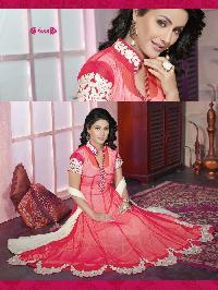 6001 Red Navya Designer Anarkali Suit