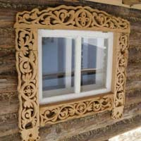 Wood Carved Windows