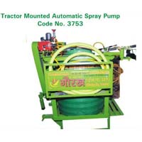 Automatic Tractor Mounted Spray Pump