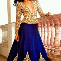 Designer lehenga choli with BlackColor Lahenga