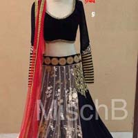 Designer lehenga choli with BlueColor Lahenga
