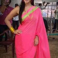 Designer Saree with Pink Color