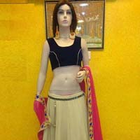 Lehenga Choli with Pinkcolor Lahenga and Georgette Fabric - 9203