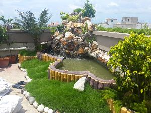 Artificial Rock Fountain