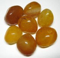 Yellow Onyx Pebble Stones
