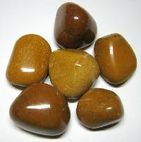 Camel Polished Pebble Stones