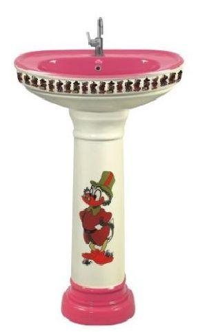 Sticker Series Pedestal Wash Basin (302)