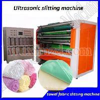 Ultrasonic microfiber cloth cutting machines
