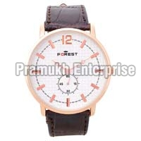 forest party wear analog watch for men