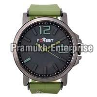 forest green fancy analog watch for men and boys
