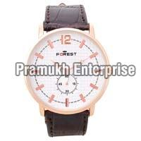 forest wear analog watch for men