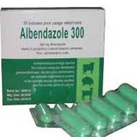 Albendazole 300 Tablets
