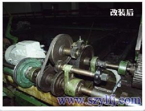B5 Frequency Invertion Control Modification Of Mule Spinning Machine 06