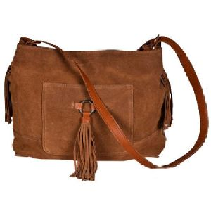 Ladies Leather Fancy Handbags