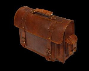 "Vintage Leather Laptop Bag and Rucksack, 11"" x 15"" x 4"""