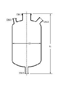 Cylindrical Flask