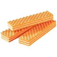 Orange Wafer Biscuits