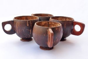 Handcrafted Coconut Mugs