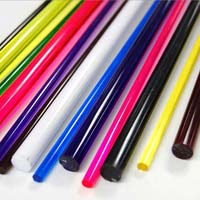 Acrylic Coloured Rods