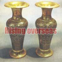 Brass Flower Vases 01
