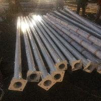 Hot Dipped Galvanised Conical Poles