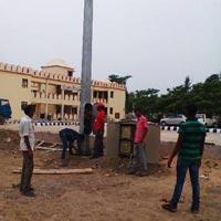 High Mast Installation & Repairing