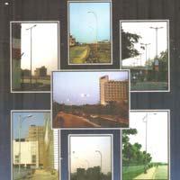 Octagonal Lighting Pole 06