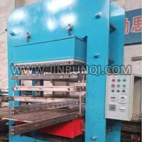 Rubber Paver Tile Vulcanizing Press