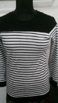 Ladies Round Neck T-shirts 04