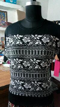 Ladies Round Neck T-shirts 05