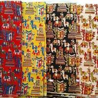 Kalamkari Silk Fabric 01