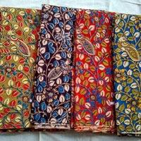 Kalamkari Silk Fabric 02