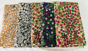 Kalamkari Silk Fabric 03