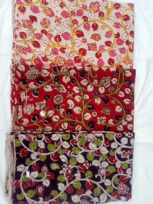Kalamkari Silk Fabric 06