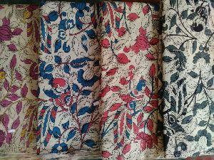 Kalamkari Silk Fabric 07